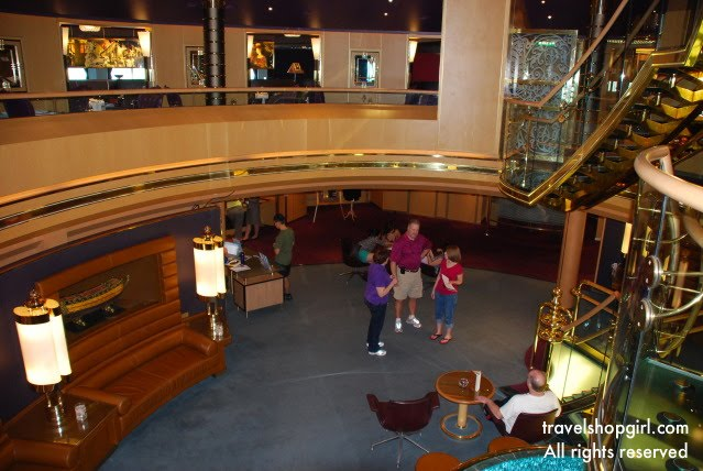Holland America ship tour