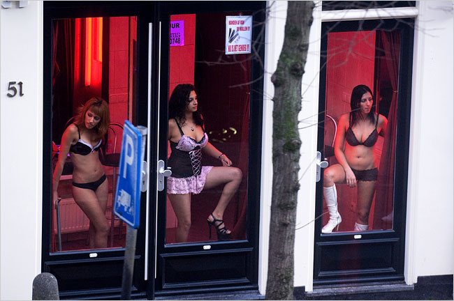 Red Light District, Prostitution, and the City Amsterdam Bus ...