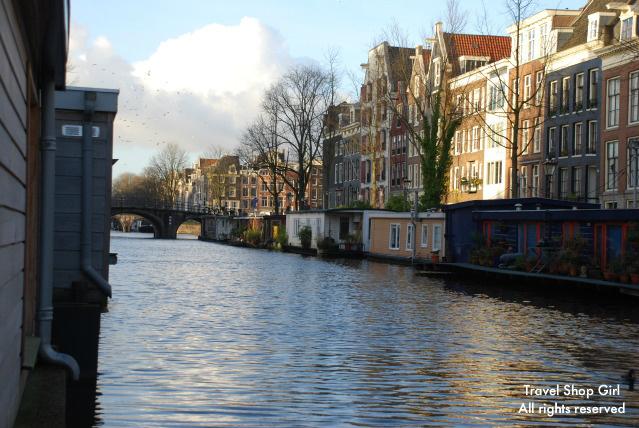Amsterdam houseboat