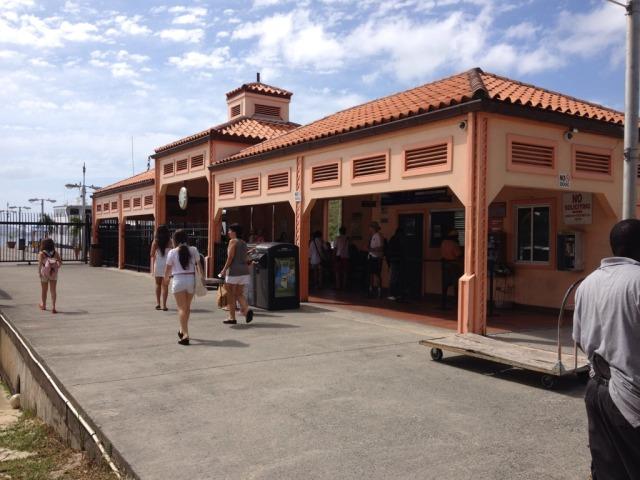Cruz Bay ferry terminal