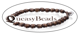Calm your queasy stomach in style with Queasy Beads