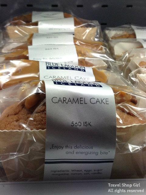 Blue Lagoon Caramel Cake