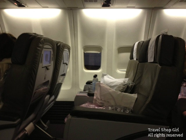 Saga Class on IcelandAir