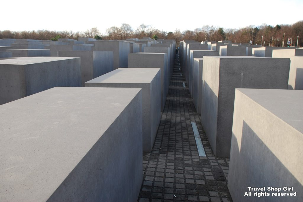 Holocaust Memorial and Hitler's Bunker