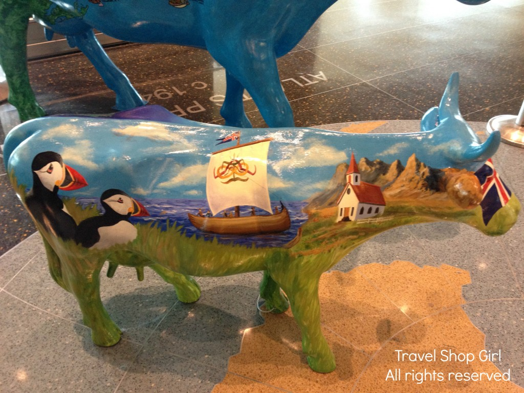 Little Moo in Terminal E at Boston Logan Airport