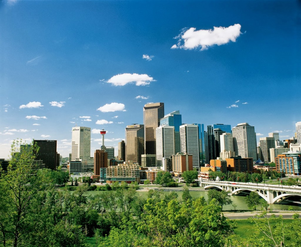 Calgary, Alberta, Canada (photo courtesy of Visit Calgary)