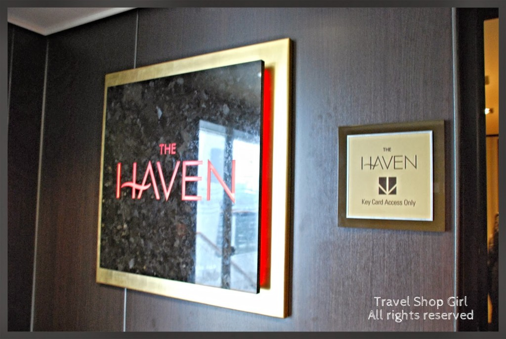 The Haven entrance