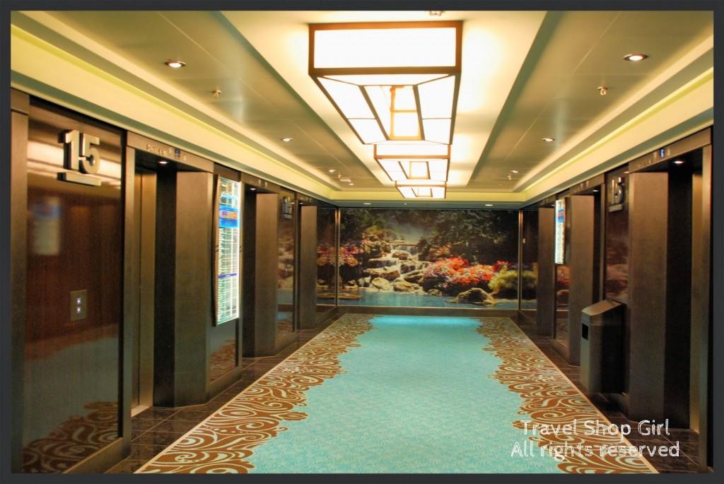 Deck 15 Elevator Area