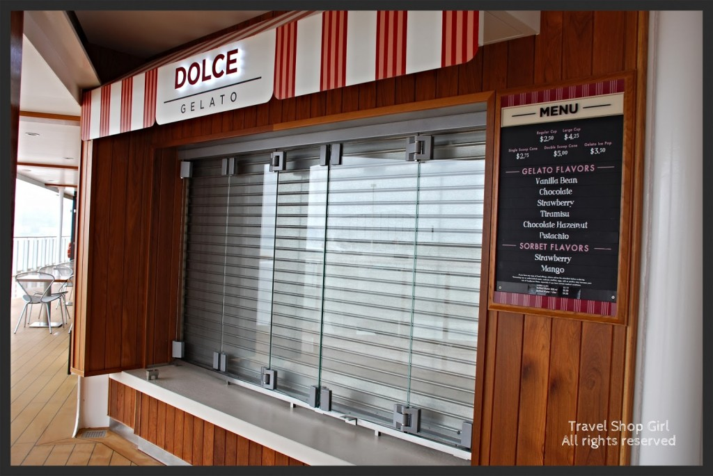 Dolce Gelato - It was closed when I was there.  Bummer!