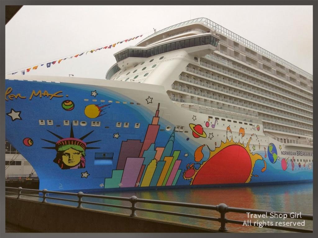 Norwegian Breakaway | Norwegian Cruise Line Art And Peter Max | Travel Shop Girl