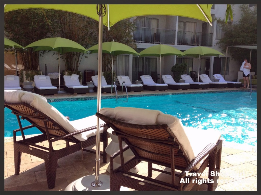 Sunset Marquis pool area