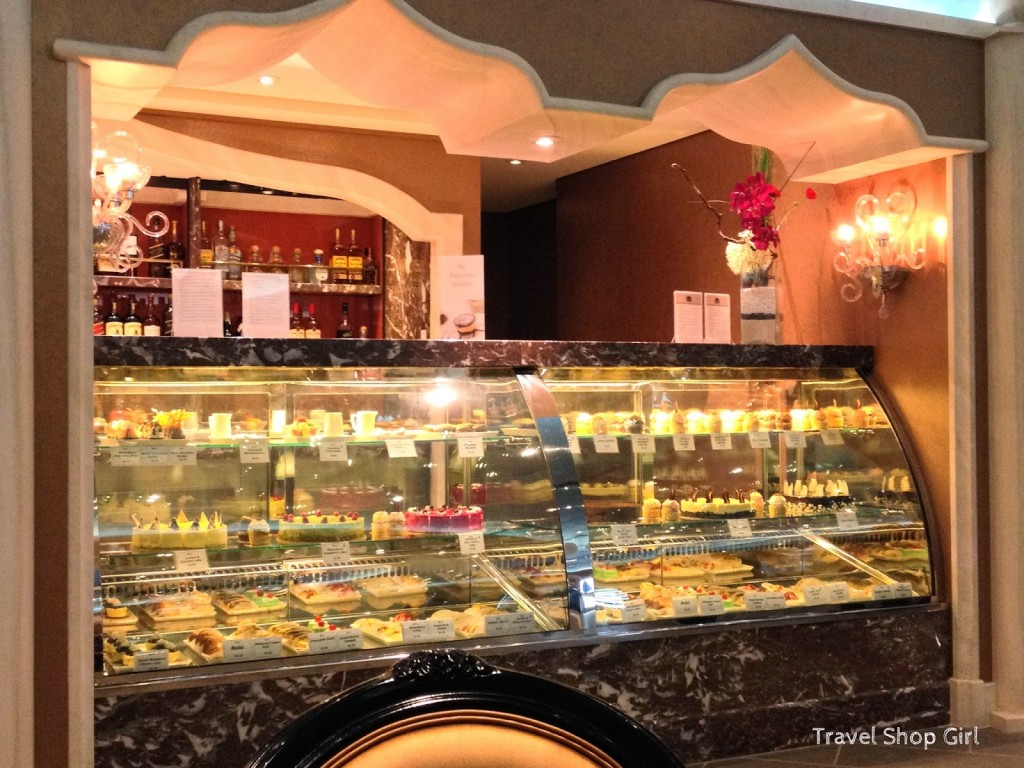 Pastry Case at Piazza del Doge