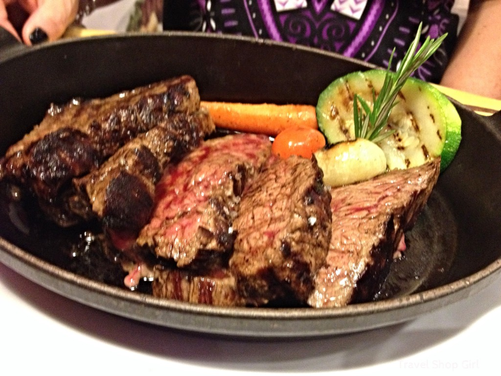 "Sliced Steak ""Tagliata"""
