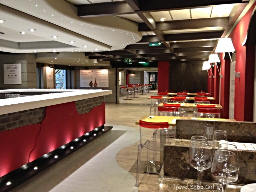 Msc Divina Dining In Eataly Onboard Msc Cruises Travel