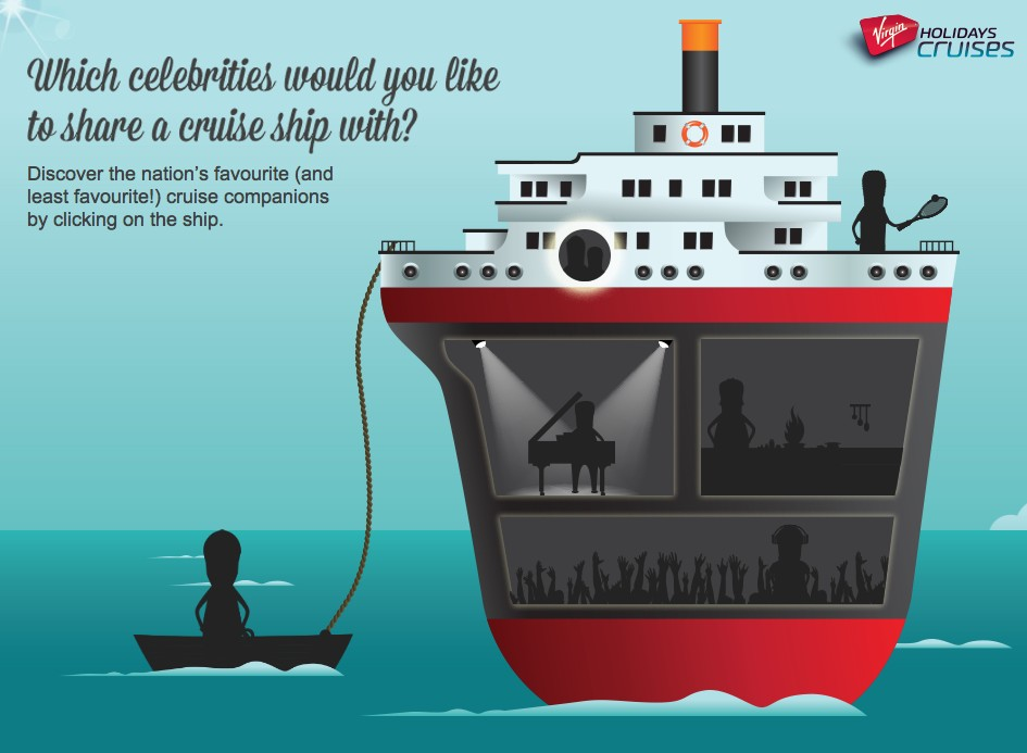 cruise with a celebrity
