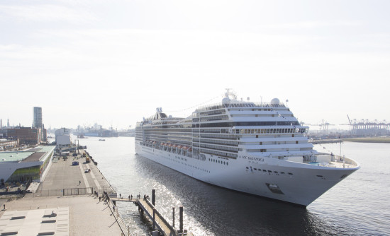 MSC Magnifica in Hamburg (Photo: MSC Cruises)