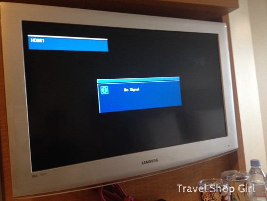 """Flat screen Samsung TV with """"no signal"""" for 3 days"""