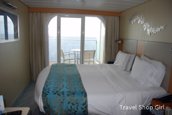 Cabin 12198 on Royal Caribbean's Oasis of the Seas