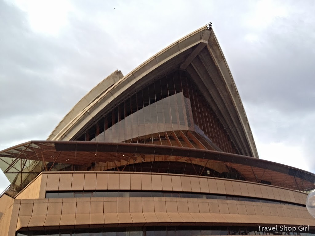 Sydney Opera House from the north side
