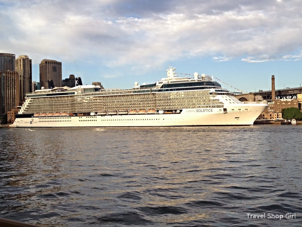 Another great view of the Celebrity Solstice