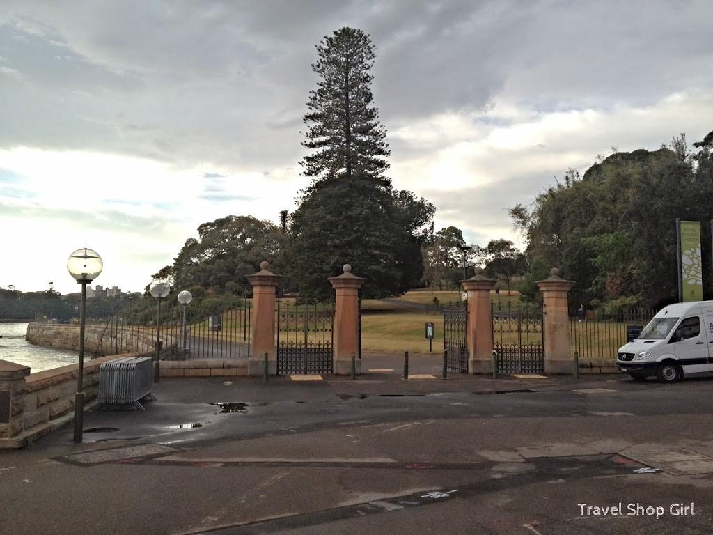 Tarpeian Precinct Lawn - Royal Botanic Garden Sydney
