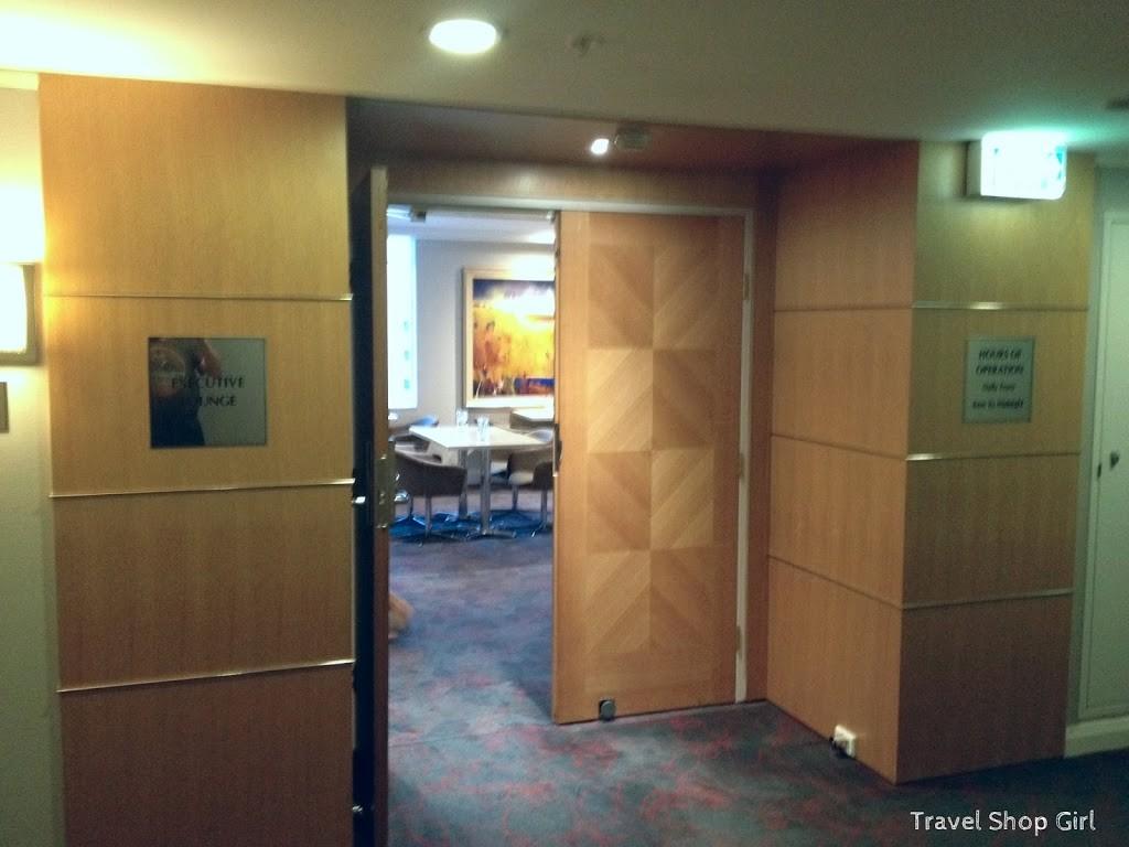 Executive Lounge entrance