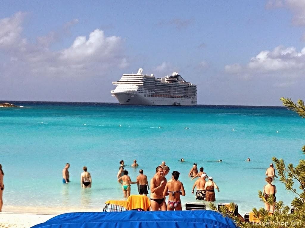 Visiting Little San Salvador Half Moon Cay On MSC Divina MSC - Msc divina cruise ship