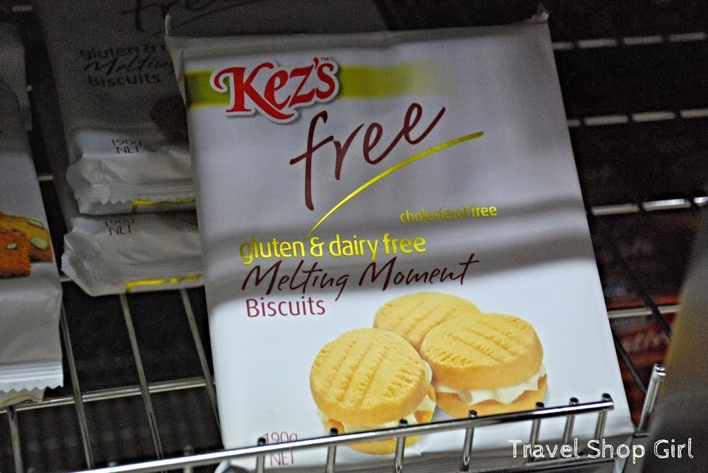 Kez's Free Gluten, Dairy, Cholesterol-Free Melting Moment Biscuits