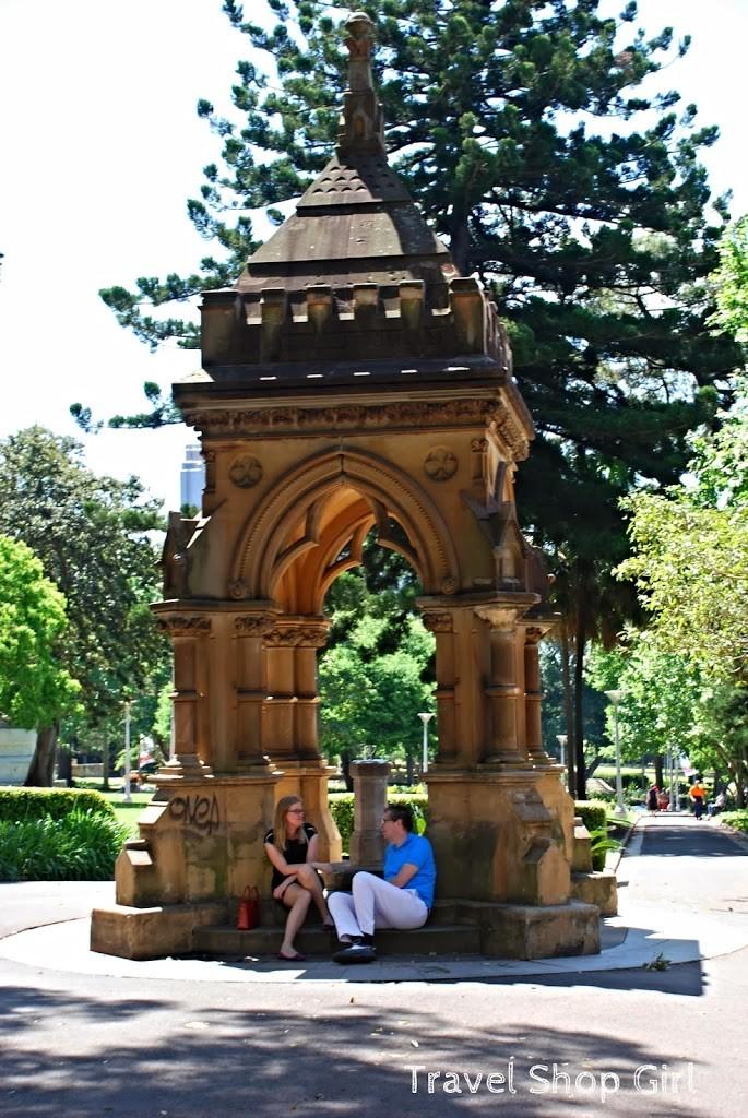 Frazer Fountain in Hyde Park