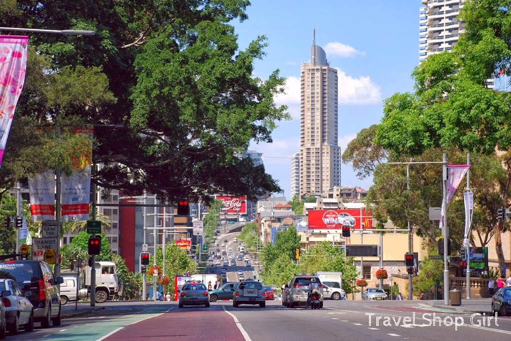 Crossing Park Street