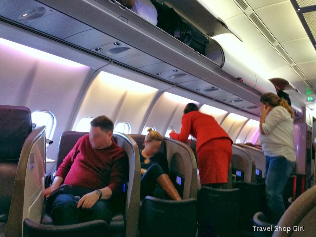 Flying Upper Class Round Trip on Virgin Atlantic to London