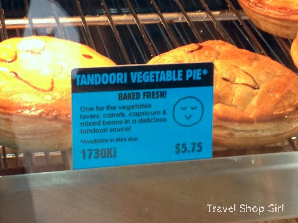 My happy little pie was the Tandoori Vegetable Pie