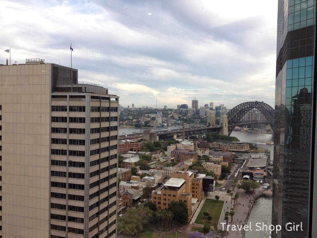 View of Sydney Harbour Bridge from the Executive Lounge