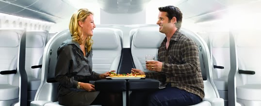 Premium Economy seats on Air New Zealand (photo from Air New Zealand)