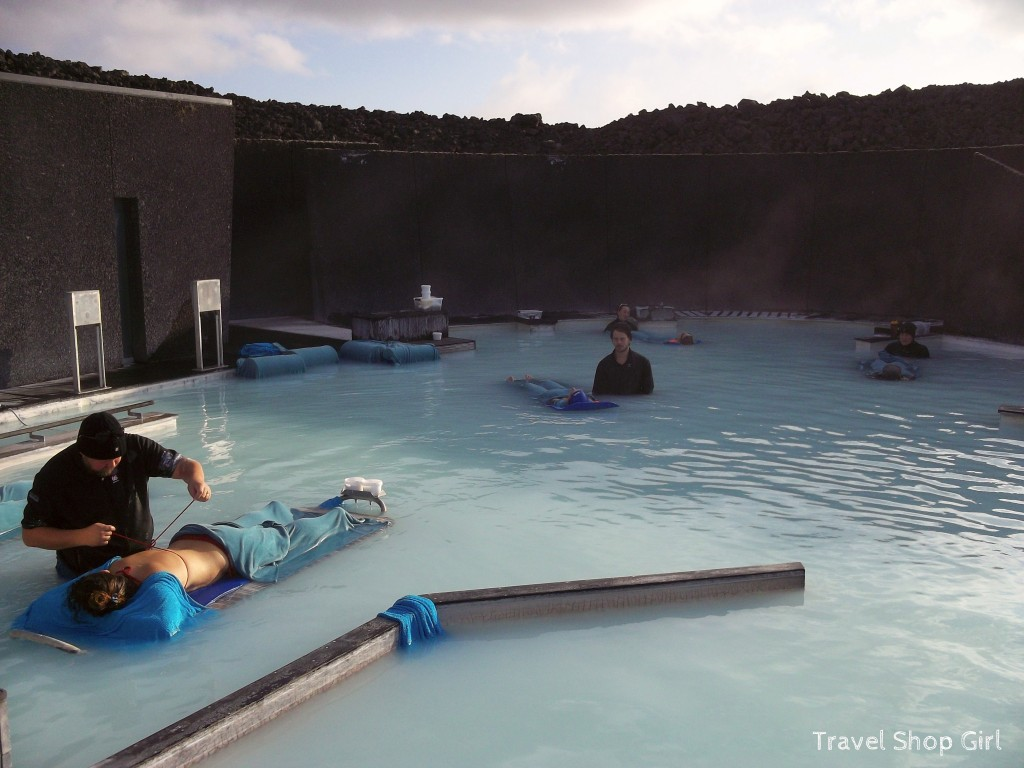 in water massage