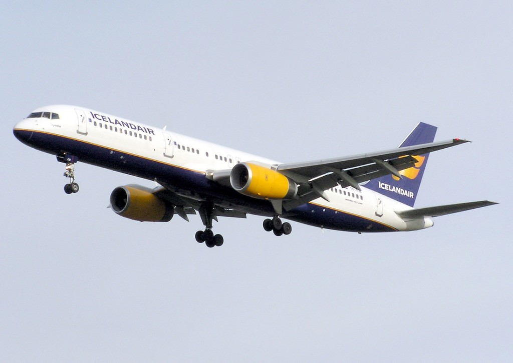 IcelandAir from Iceland to London