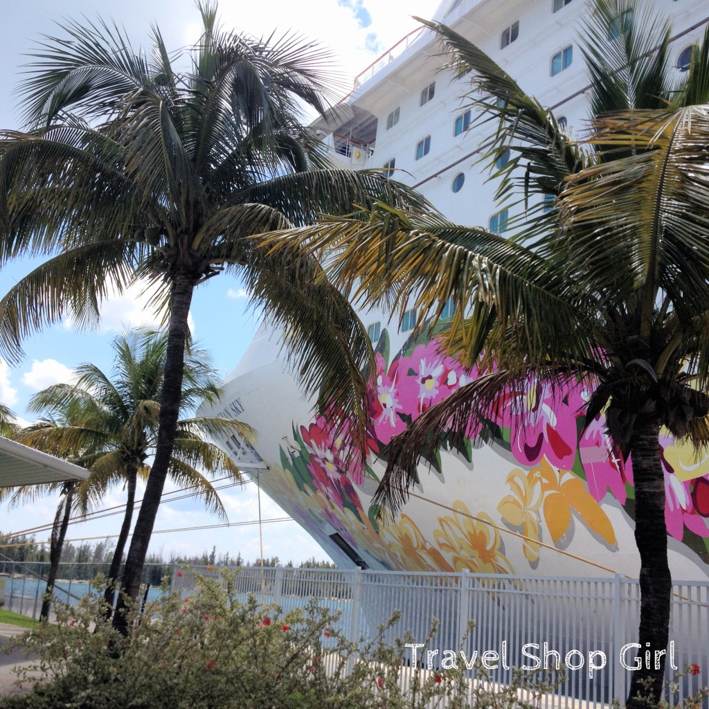 Norwegian Sky in Freeport, Bahamas