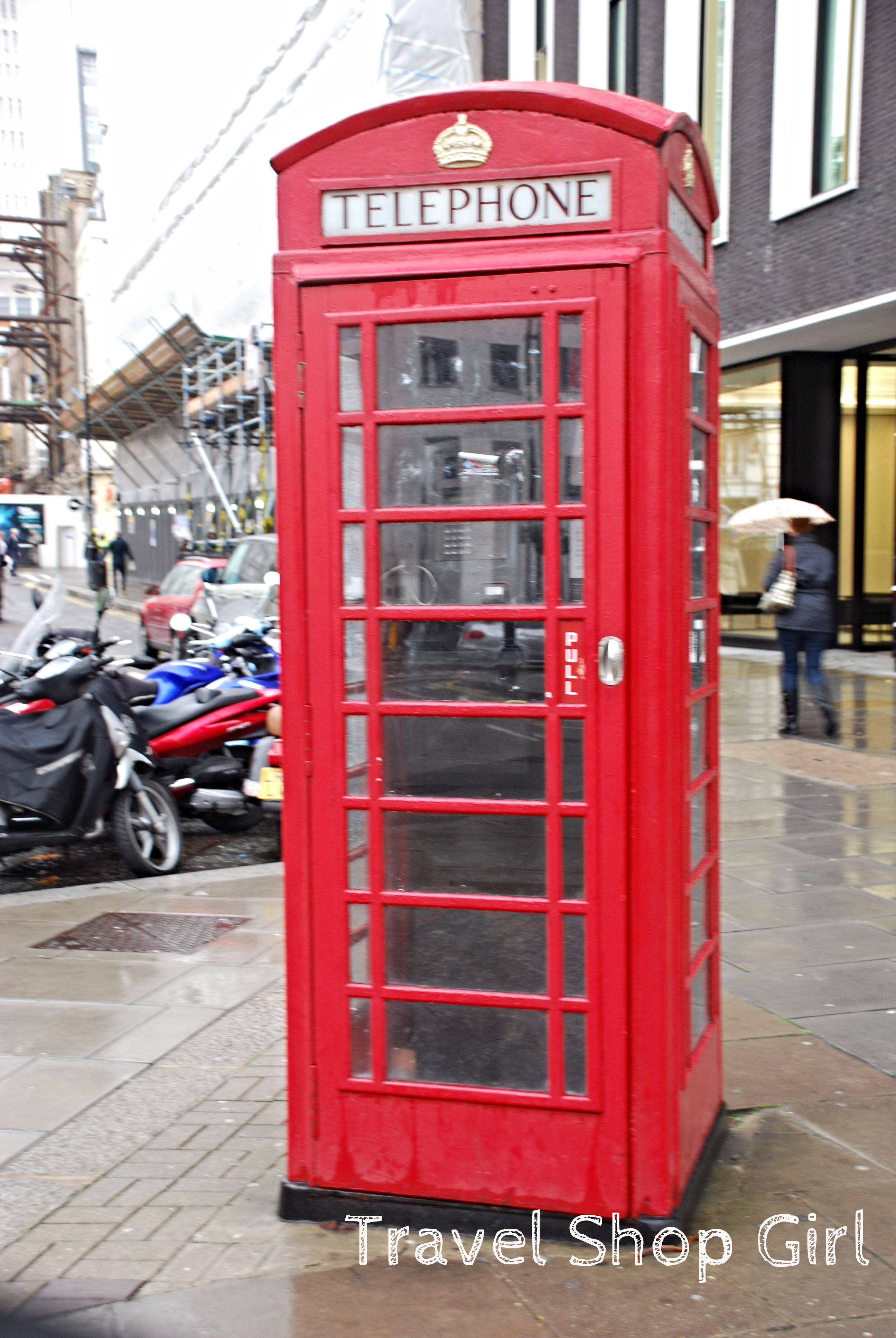 Random Red Images Of London Travel Shop Girl