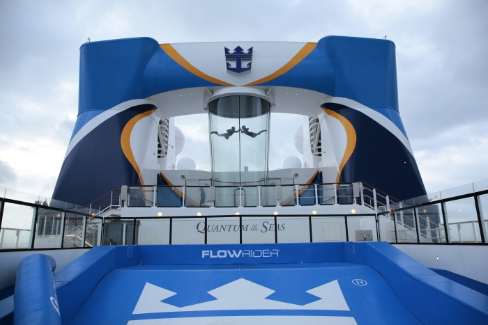 Ripcord by iFly onboard Quantum of the Seas (photo courtesy of Royal Caribbean International)