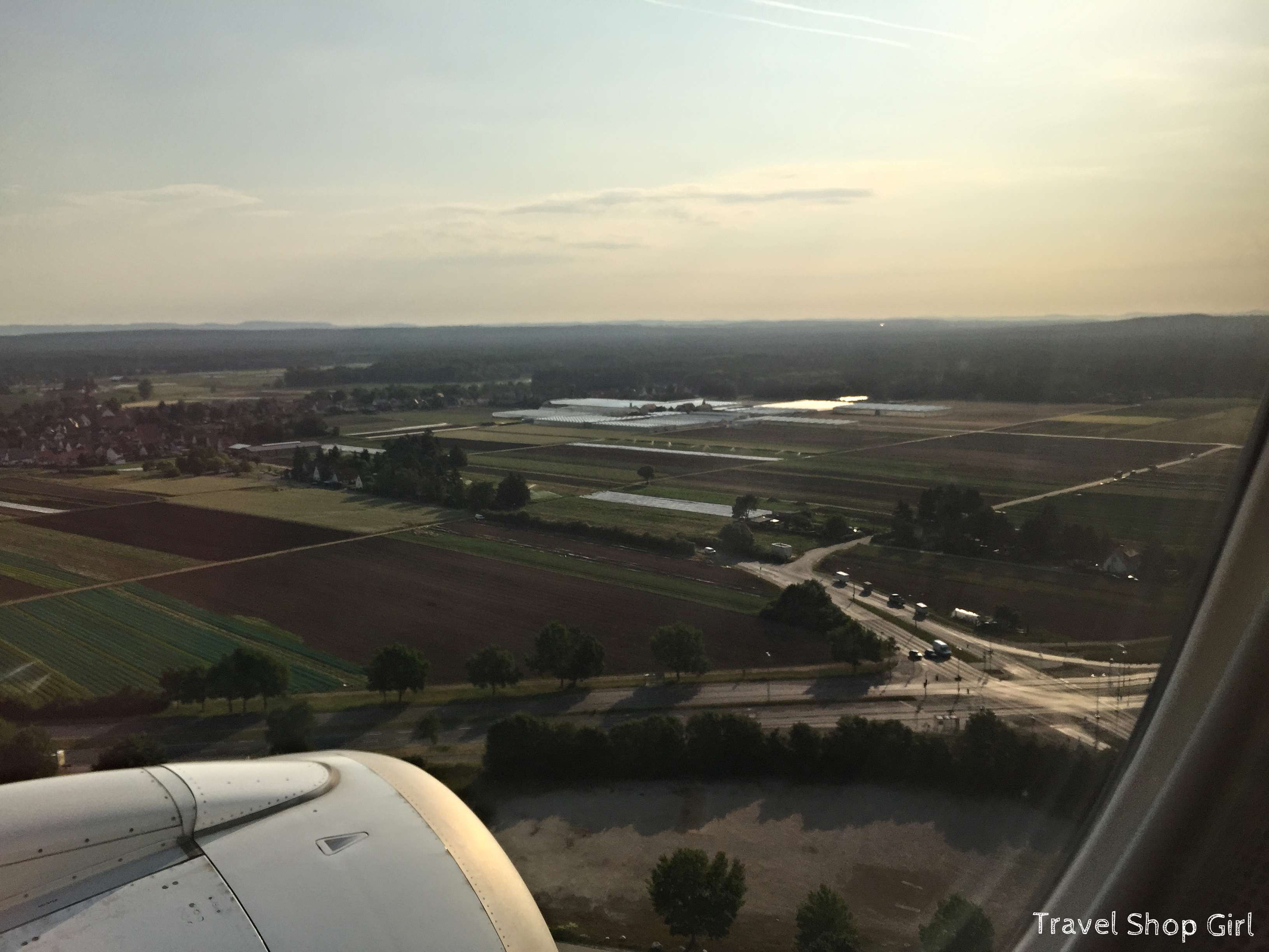 Arriving Into Airport Nürnberg