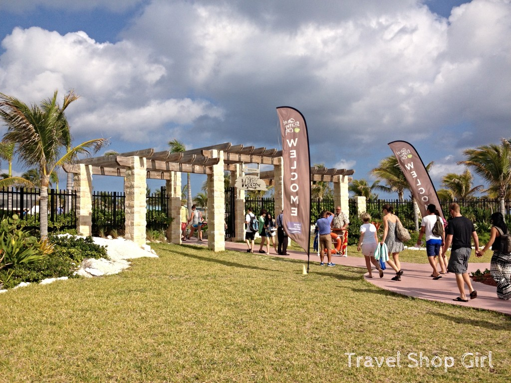 Entrance to Great Stirrup Cay