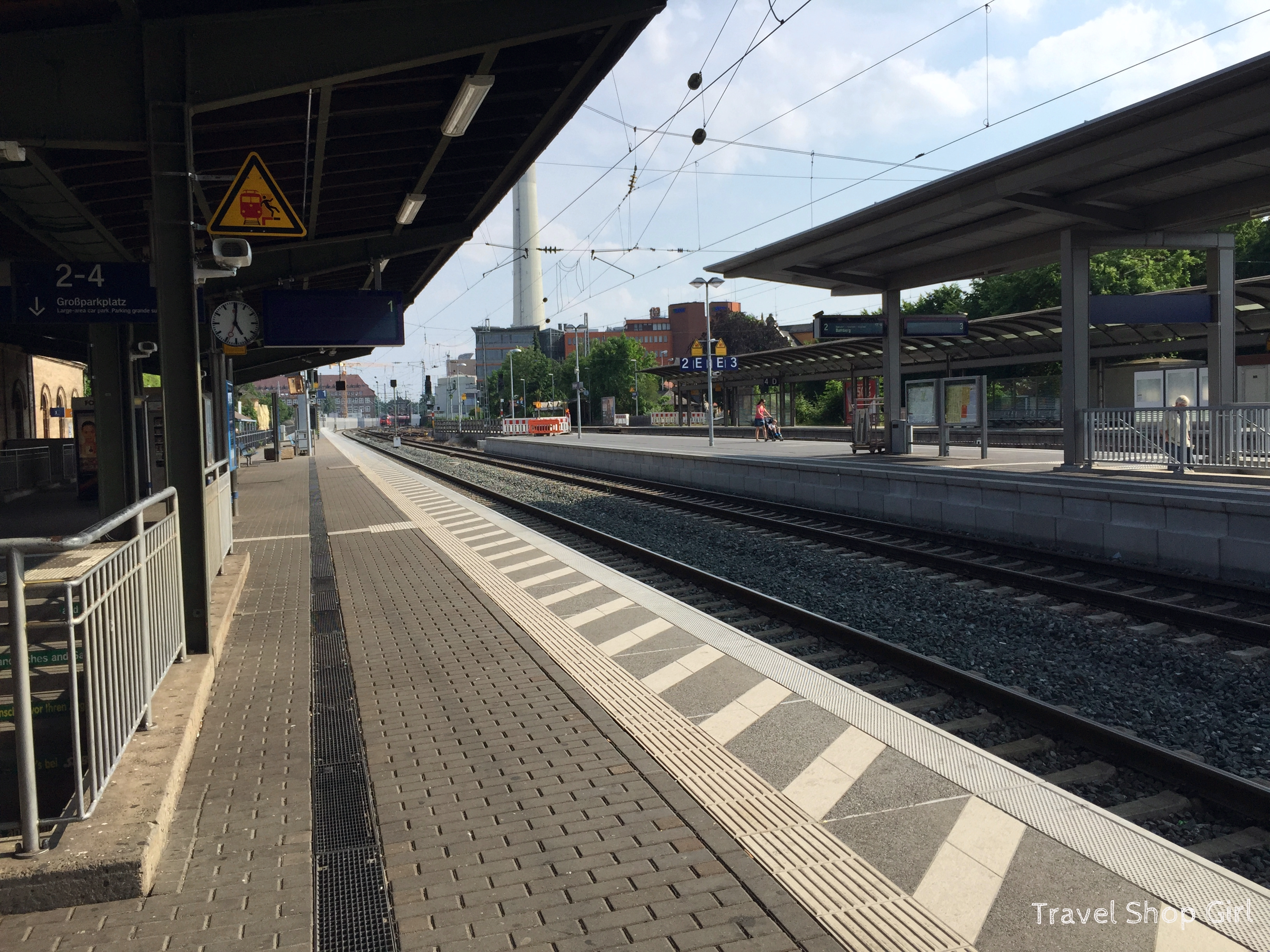 Taking The Train From Nuremberg To Erlangen Germany Travel Shop Girl