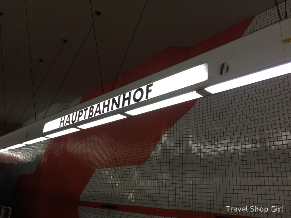 Taking the Train from the Airport into Nuremberg