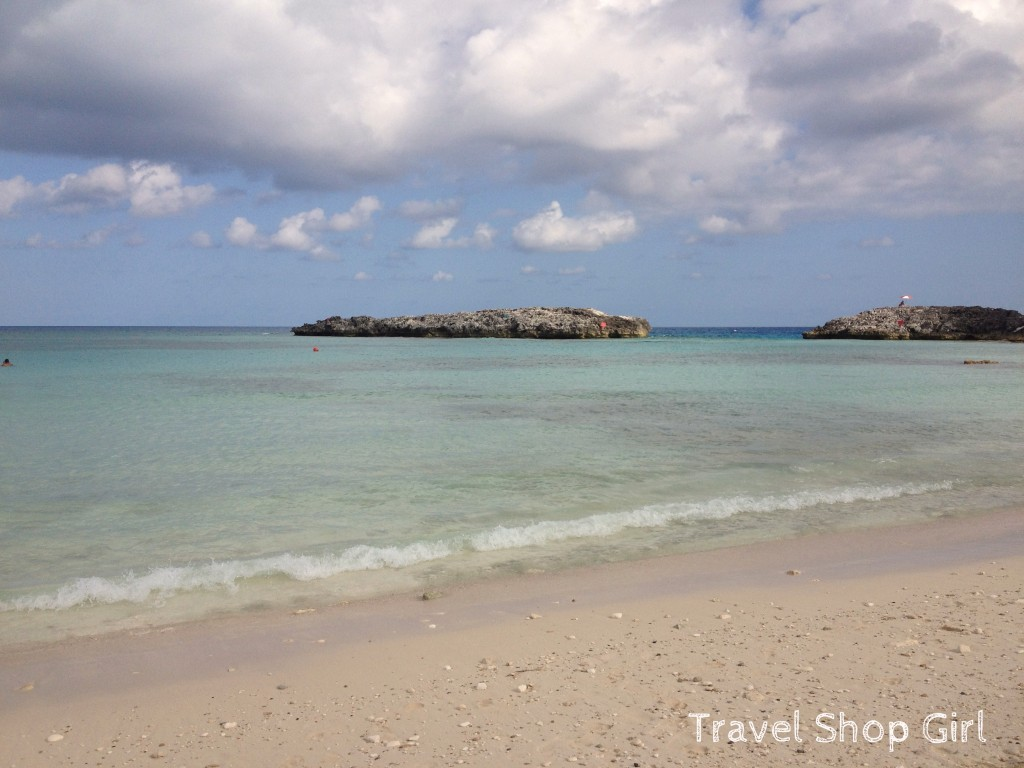 Beachfront at Great Stirrup Cay