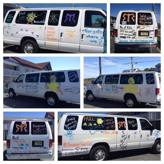 Photo courtesy of Alexandria Cuellar from Van 2 - Crazy Running Peeps