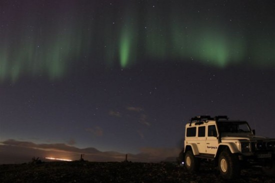 Northern Lights Hunt - Jeep Tour (photo from Iceland Travel)