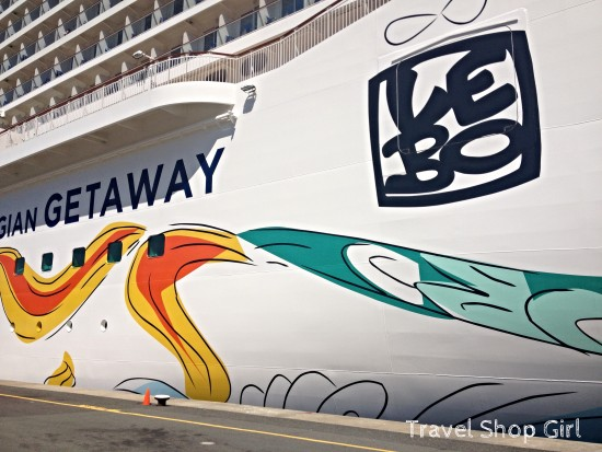 Hullwork on the Norwegian Getaway by Lebo
