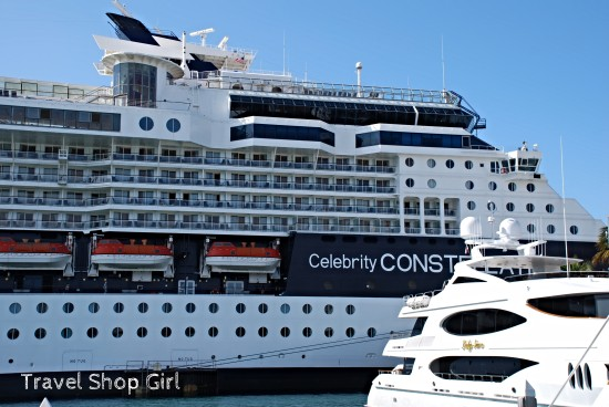 Celebrity Constellation in port in Key West, FL