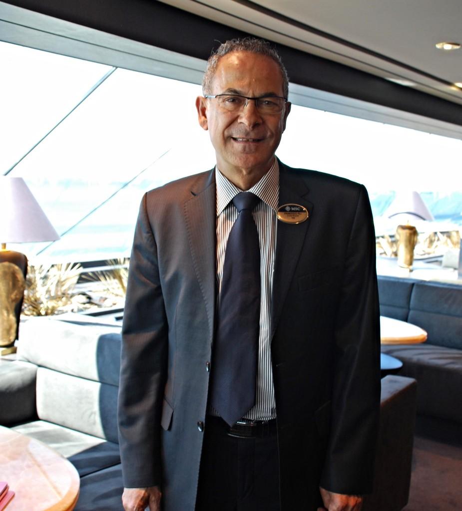 MSC Preziosa cruise director