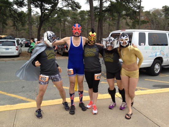 "Team 498 ""Get Awesome"" as Lucha Libre Wrestlers"